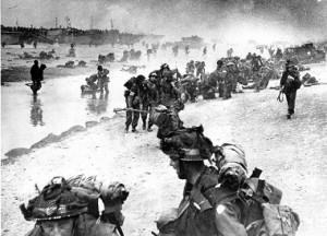 WWII BRITISH D-DAY LANDING
